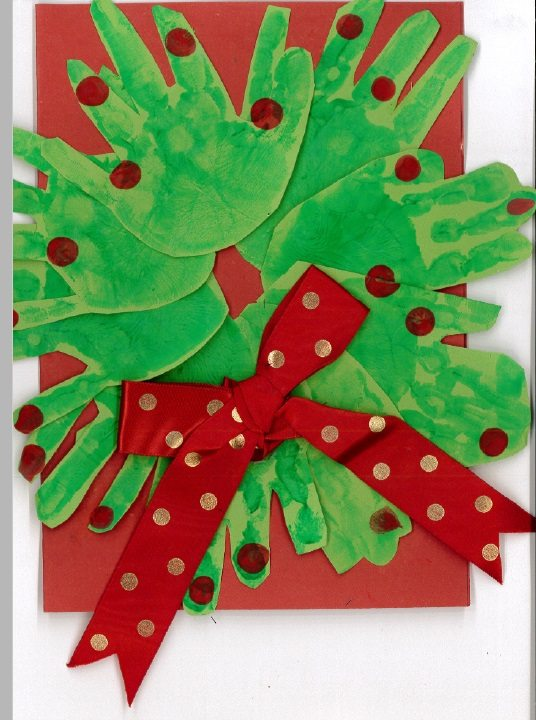 Christmas Card Ideas For You To Try At Home Tops Day Nurseries